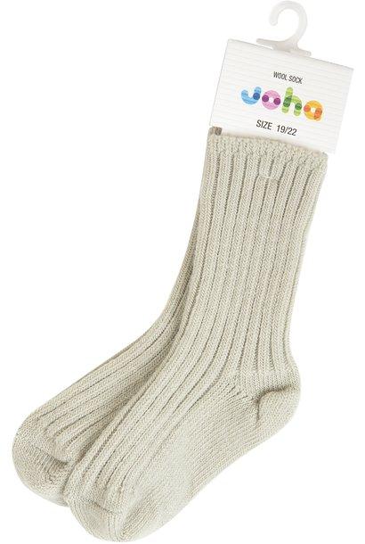 Joha socks wol feather grey