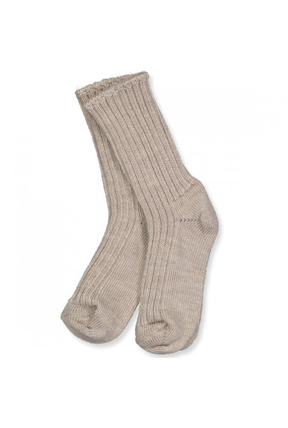 Joha socks wol beige melange