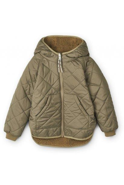 Liewood reversible jacket jackson khaki