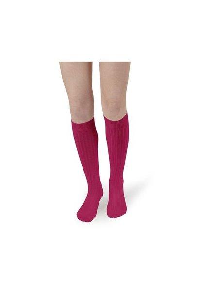 Collegien knee socks pink lady