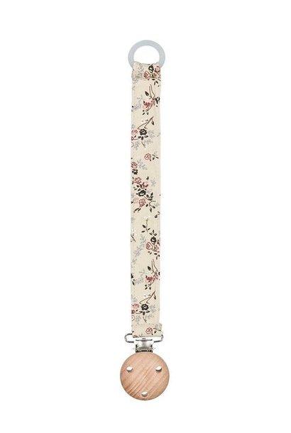 MarMar pacifier strap alo climbing rose