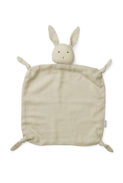 Liewood cuddle cloth agnete rabbit sandy
