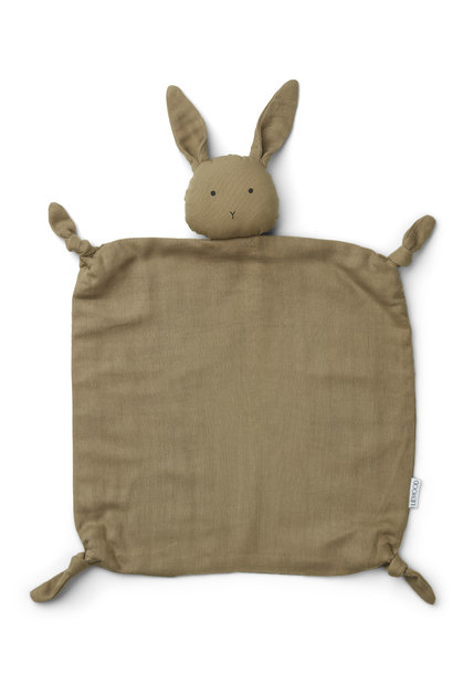 Liewood cuddle cloth agnete rabbit oat