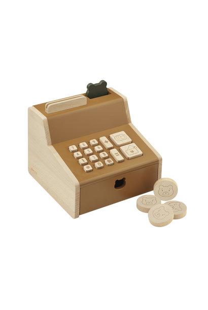 Liewood cash register buck golden caramel mix