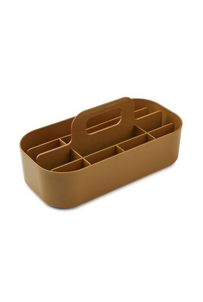 Liewood storage caddy hope golden caramel
