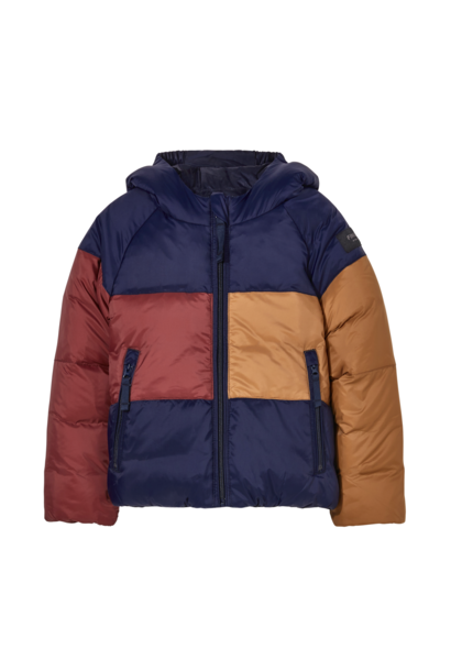 Finger in the nose reversible jacket snowscout navy