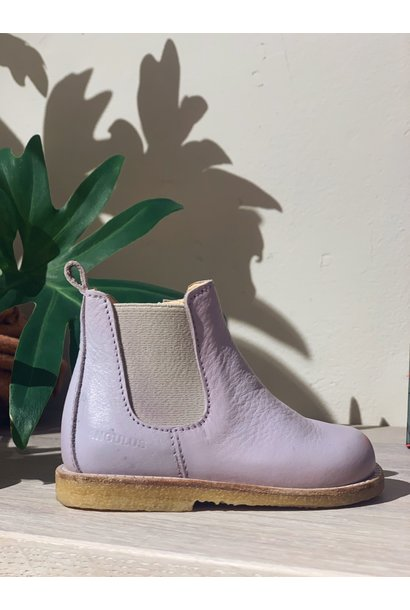 Angulus Starter chelsea boot pale lavender