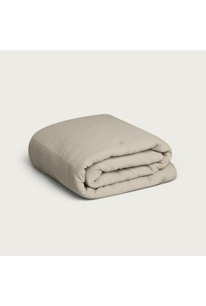 Garbo & Friends filled muslin blanket thyme