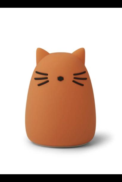Liewood nachtlampje cat mustard