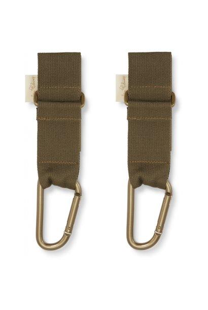 Konges Slojd stroller straps beech