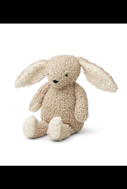 Liewood knuffel konijn riley pale grey
