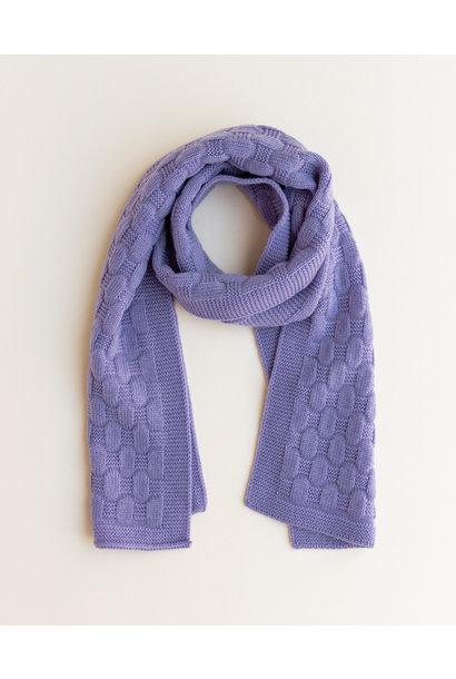 hvid sjaal fiona lilac