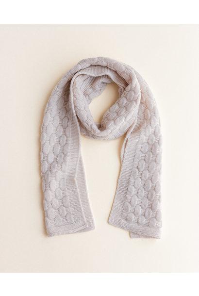 hvid sjaal fiona off white