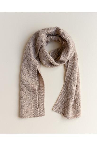 hvid sjaal fiona sand