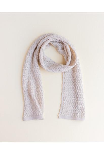hvid sjaal fredrik off white