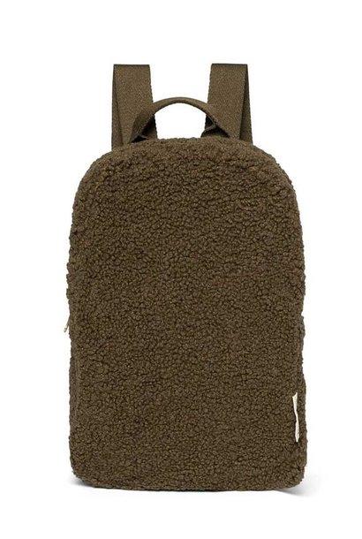 Studio Noos chunky backpack mini green