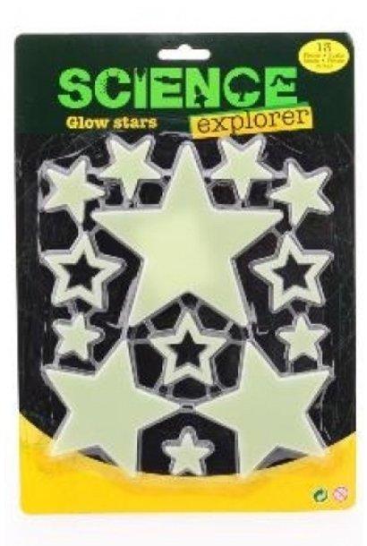 Wonder stickers glow in the dark sterren