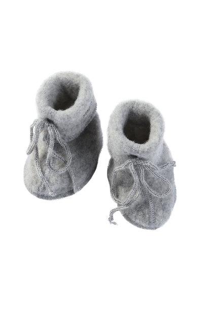 Engel natur booties wolfleece light grey