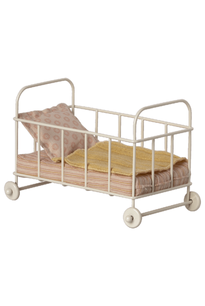 Maileg cot bed micro rose