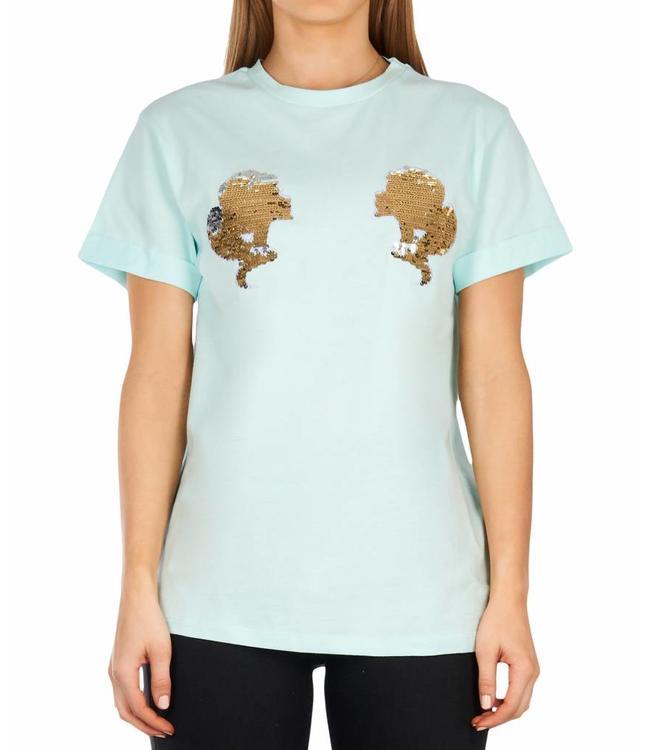 Reinders Reinders : T-shirt Head logo - Clear water