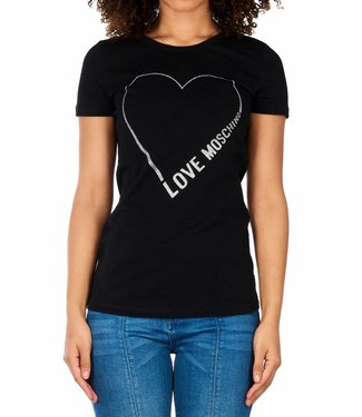 Love moschino Love Moschino : St. Logo core - Black