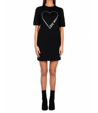 Love moschino Love Moschino : Stampa logo core - Black