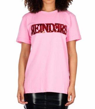 Reinders Reinders : T-shirt Wording - Prism pink