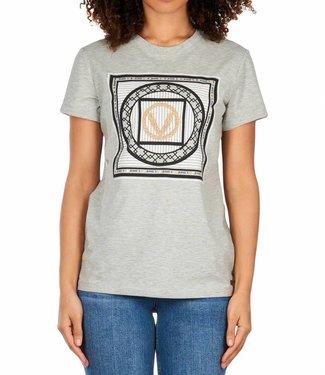 Joshv JoshV : T-shirt Zoe v print - Grey