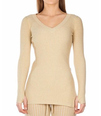 Reinders Reinders : Twin set sweater lurex - Creme