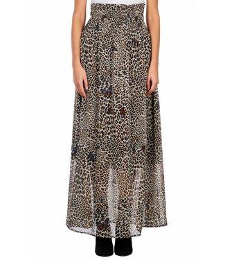 LiuJo LiuJo : Skirt Leopard butterfly