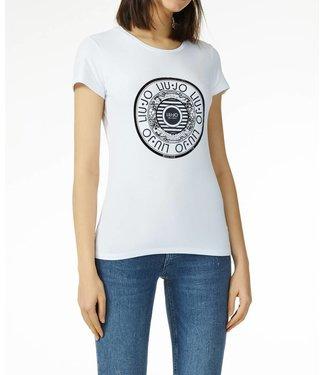 LiuJo LiuJo : T-shirt Bianco ottico