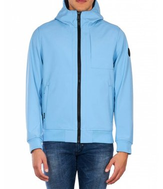 Airforce Airforce : Softshell jacket - Chest blue