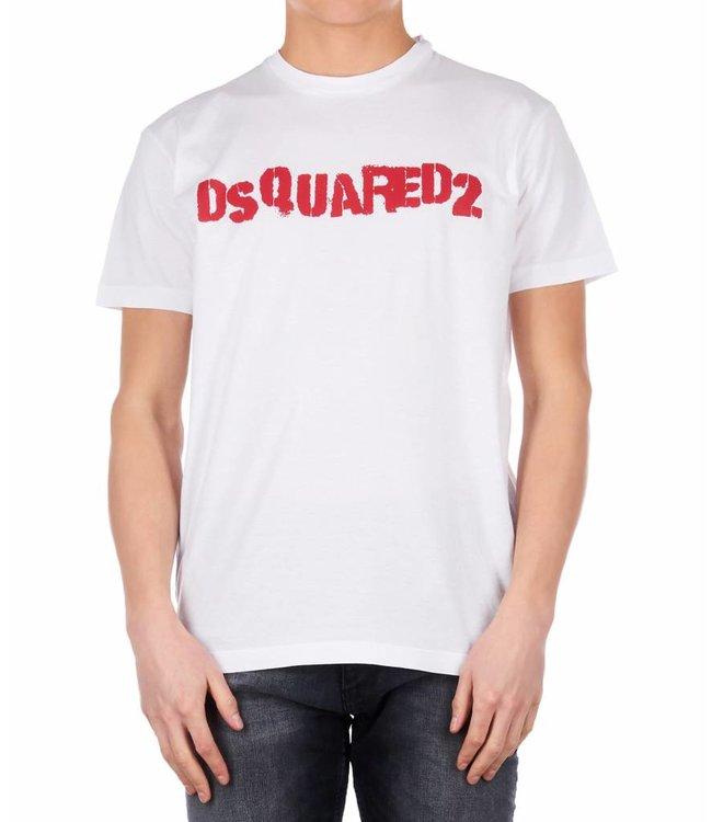 Dsquared2 Dsquared2 : T-shirt Logo - White