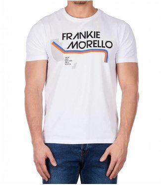 Frankie Morello Frankie Morello : T-shirt Lien wit