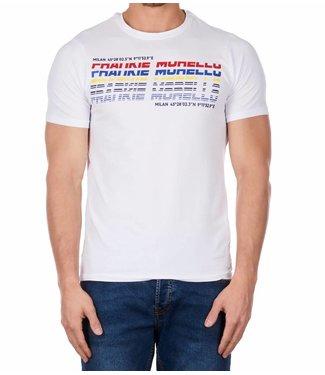 Frankie Morello Frankie Morello : T-shirt Yosef wit