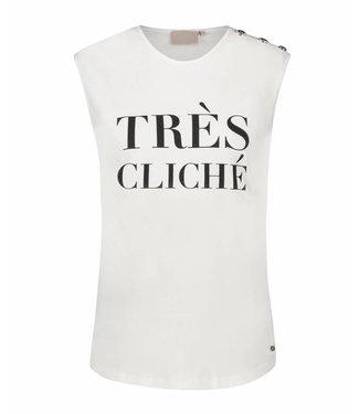 Joshv Joshv  : T-shirt indy cliche-off white