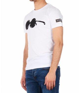 ICEBERG ICEBERG : T-shirt glasses wit