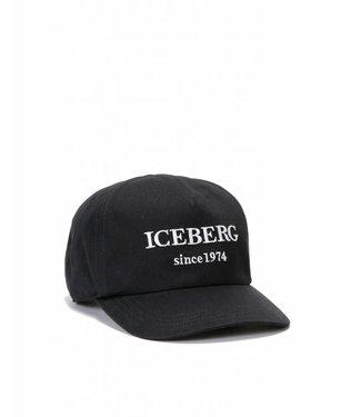 ICEBERG ICEBERG : Logo Cap Black