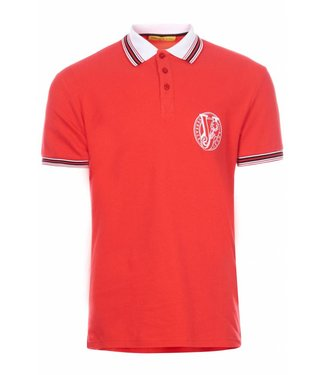 Versace Jeans couture Versace jeans : Polo mc round slim Red