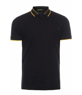 Versace Jeans couture Versace jeans : Polo pocket slim Black