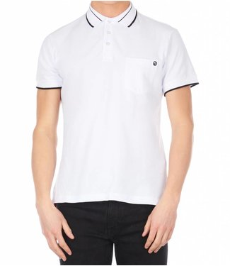 Versace Jeans couture Versace jeans : Polo pocket slim White