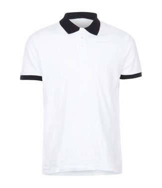 Versace Jeans couture Versace jeans : Polo embroidery reg.White