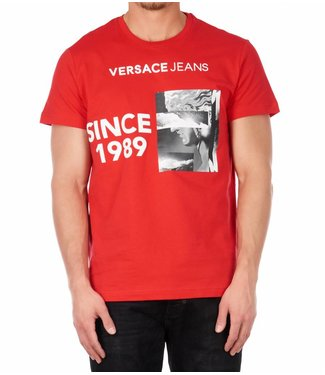 Versace Jeans couture Versace jeans : T-shirt print Red