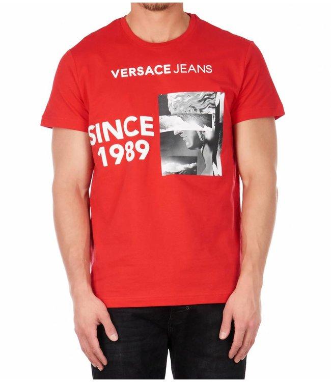 T shirt print Red