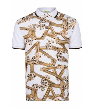 Versace Jeans couture Versace Jeans : Polo contrast White