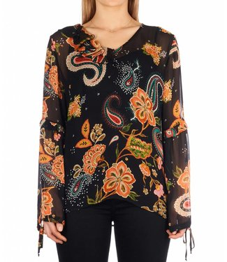 LiuJo LiuJo :  Blouse flower print Black