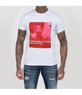 Xplicit Xplicit : T-shirt Ciao White
