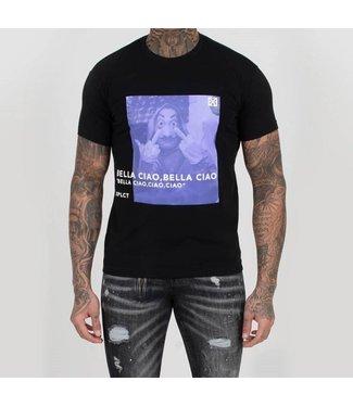Xplicit Xplicit : T-shirt Ciao Black