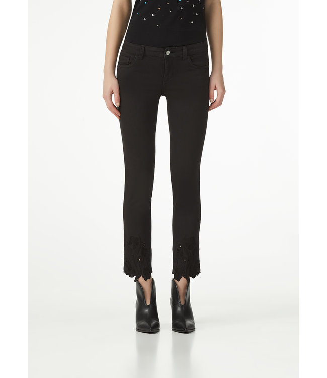 LiuJo LiuJo : Jeans embroidered Black