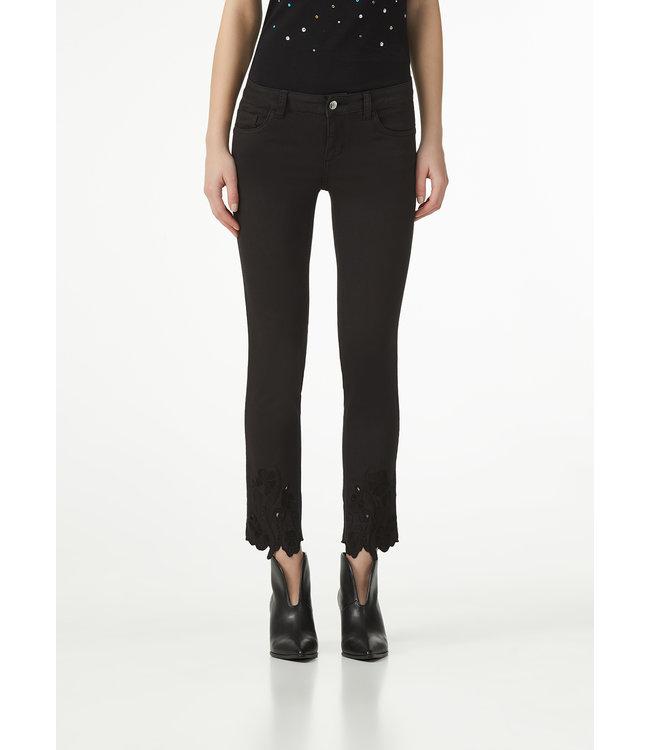 LiuJo LiuJo : Jeans embroidered Black